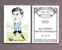 Sheffield Wednesday Alf Capper 35 (FC)
